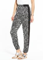 Very PETITE Printed Cuff Jogger