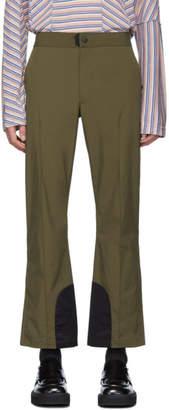 Acne Studios Khaki Paxton Trousers