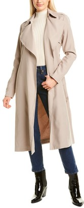 Cole Haan Long Trench Coat