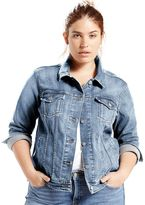 Levi's Plus Size Denim Trucker Jacket