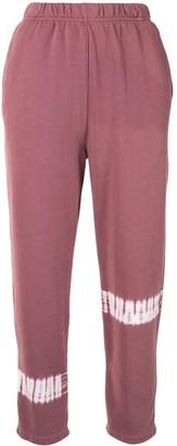 Raquel Allegra Tie-Dye Detail Sweatpants
