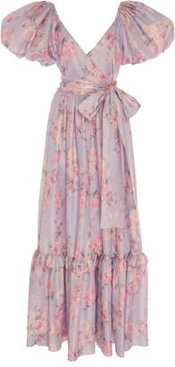 LoveShackFancy Ida Floral Maxi Dress