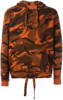 MHI camouflage print pullover hoodie