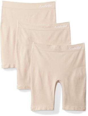 Arabella Women's Seamless Slip Short 3 Pack