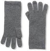Sofia Cashmere Women's Smartphone Gloves, Charcoal