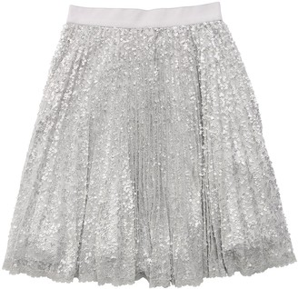 Ermanno Scervino Sequined Tulle Skirt