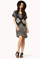 Forever 21 Road Trip Shift Dress w/ Sash