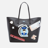 Karl Lagerfeld Women's K/Jet Shopper Bag - Black