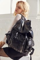 Le Sport Sac Voyager Faux Patent Backpack