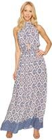 Brigitte Bailey Katelina Halter Maxi Dress Women's Dress