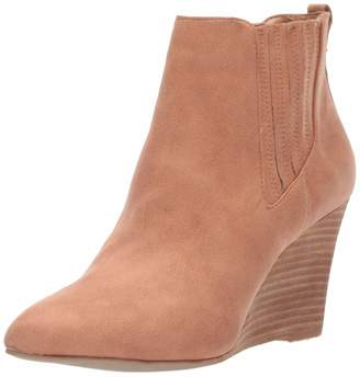 Report Women's William Ankle Boot Tan 8.5 M US
