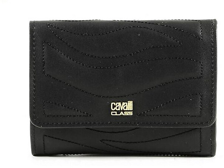 Thumbnail for your product : Class Roberto Cavalli Women's Black Wallet