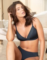 Thumbnail for your product : Pour Moi? Pour Moi Studio wire free bralette in slate gray