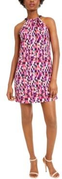 Trina Turk Trina JuJu Bow-Back Halter Dress