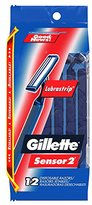 Gillette GoodNews! Plus Men's Disposable Razor, 12 Count (Pack of 3)