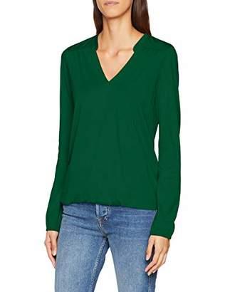 Marc O'Polo Women's 807300952715 Longsleeve T - Shirt - Green