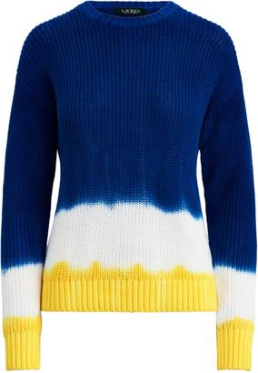 Ralph Lauren Tie-Dye Cotton Jumper