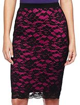 Nicole Miller nicole by Lace Pencil Skirt