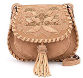 Steve Madden Steven by Kalli Embossed Saddle Bag