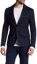 Antony Morato Pattern Two Button Notch Lapel Jacket