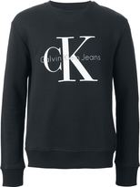 Calvin Klein Jeans logo print sweatshirt - men - Cotton - L