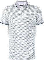 Michael Kors geometric print polo shirt - men - Cotton - M