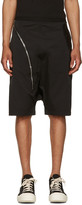 Rick Owens Black Aircut Pods Shorts