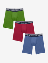Tommy John Cool Cotton Armory Boxer Brief 3 Pack