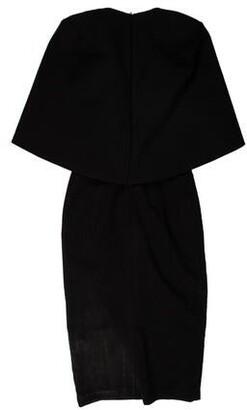 Aq/Aq Scoop Neck Midi Length Dress w/ Tags Black Scoop Neck Midi Length Dress w/ Tags