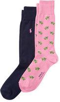 Polo Ralph Lauren Turtle Trouser Sock 2-Pack