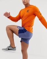 Nike Running Challenger 7 inch shorts in purple