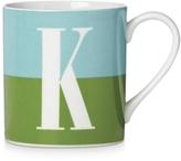 Kate Spade Whats In A Name Initial Monogram Mug