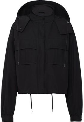 Prada Technical Poplin Jacket
