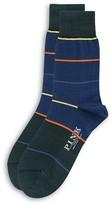 Thomas Pink Daube Stripe Socks