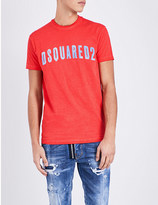 DSQUARED2 Brand logo cotton-jersey t-shirt