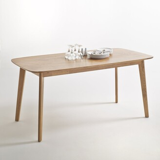 La Redoute Interieurs Jimi Solid Oak Dining Table (Seats 6)