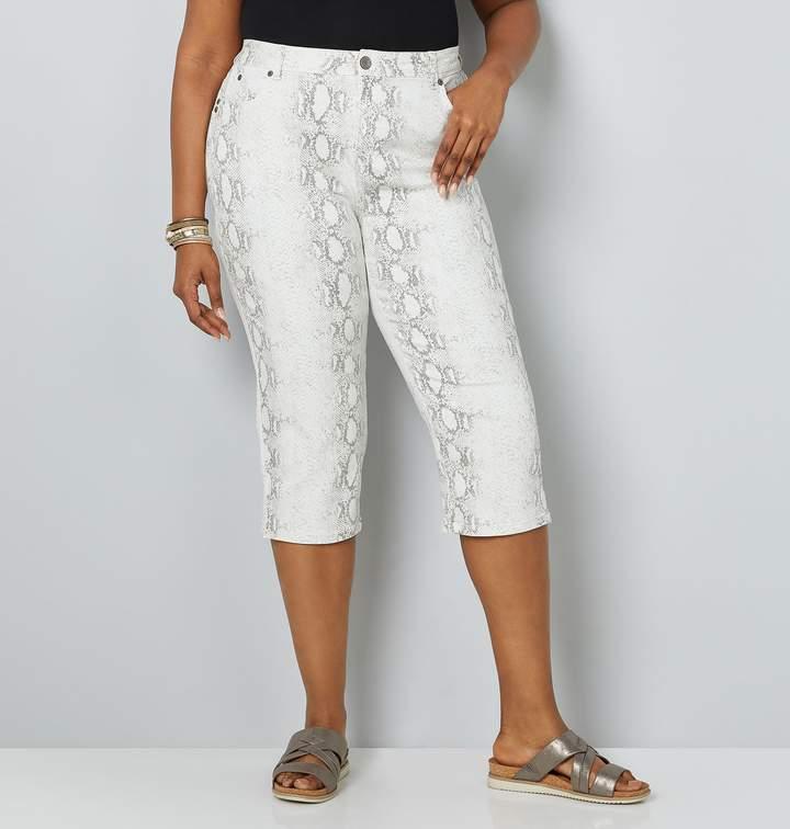 4bb3249cbc0 Plus Size Printed Jeans - ShopStyle