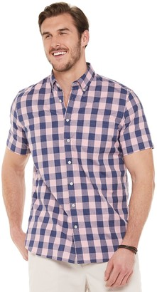 Sonoma Goods For Life Big & Tall Poplin Button-Down Shirt