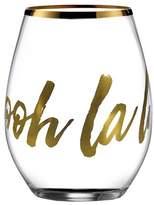 American Atelier Ooh La La Stemless Wine Glass