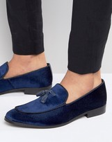 Dune Slipper Loafers In Velvet