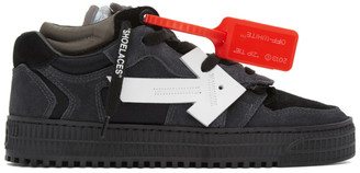Off-White Black and Grey Off-Court 3.0 Sneakers