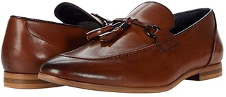 Steve Madden Divert Loafer (Cognac Leather) Men's Shoes