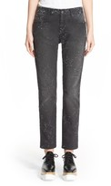 Stella McCartney Women's Star Embellished Skinny Boyfriend Jeans