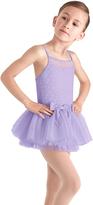 Bloch Lilac Mesh Tulle-Skirt Leotard - Girls