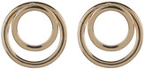 Natasha Accessories Double Circle Stud Earrings
