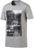 Puma Men's Photo Graphic Cotton T-Shirt