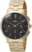 DKNY Women's 'Willoughby' Quartz Stainless Steel Casual Watch, Color:Gold-Toned (Model: NY2540)