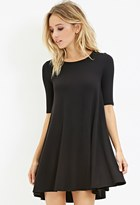 Forever 21 FOREVER 21+ Stretch Knit Trapeze Dress