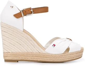 Tommy Hilfiger Peep Toe Wedge Sandals