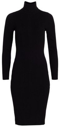 L'Agence Jeanne Turtleneck Dress